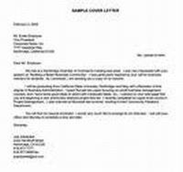 How to Write a Cover Letter for a Job Career Trend - how to write a cover letter for a job