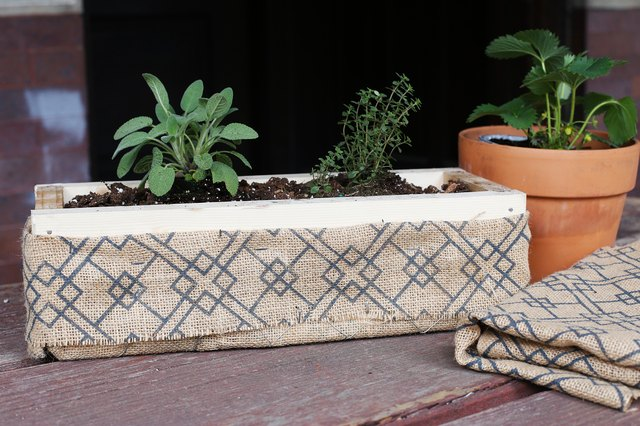 How To Build An Herb Garden Box With Pictures Ehow