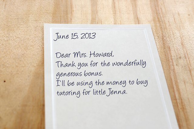 Great Thank You Notes To Boss Images -- Thank You Letter Boss After