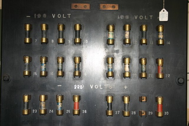 Types of Fuse Boxes eHow