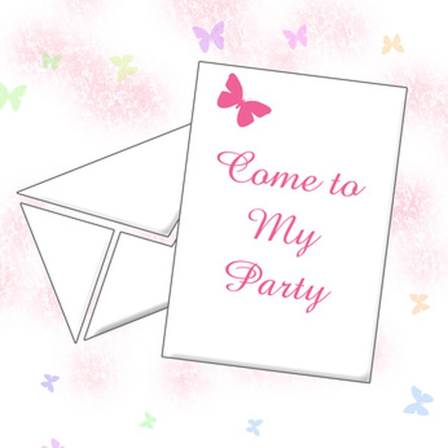 How to Word a 100th Birthday Invitation eHow