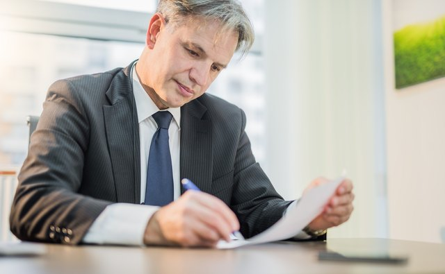 How to End a Reference Letter Bizfluent