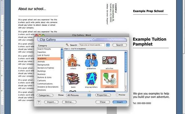 How to Make Tuition Pamphlets in Microsoft Word Bizfluent - make pamphlet online