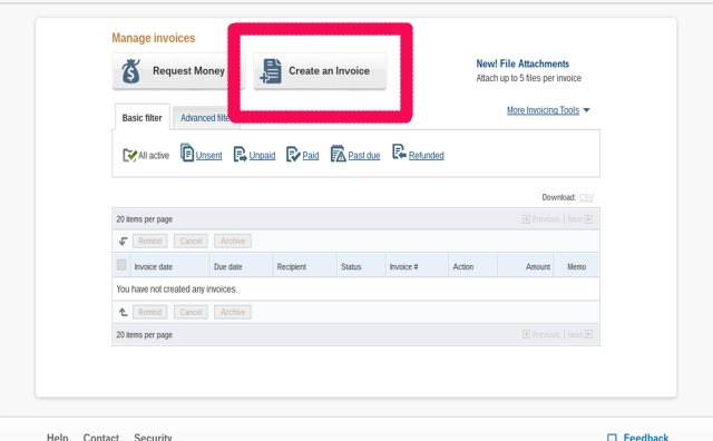 How to Send Invoices on PayPal Bizfluent - how to send invoices
