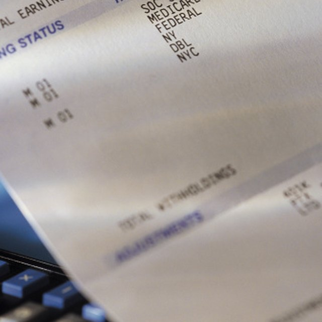 How to Calculate the FIT Tax Bizfluent