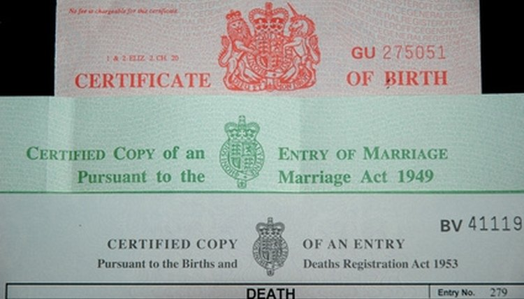 How to Get a Birth Certificate in El Paso, Texas Legalbeagle
