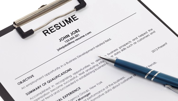 How to Write a Summary of Qualifications for a Resume Career Trend - Summary Of Qualifications On Resume