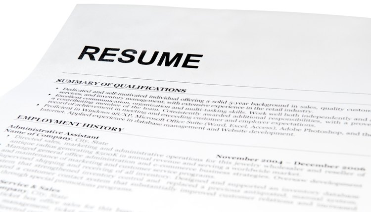 Justified Vs Left-Justified Formatting on a Resume Career Trend