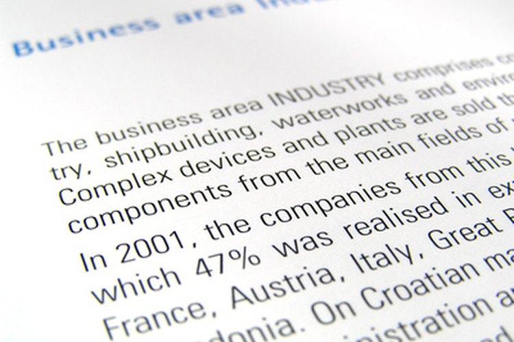 Formato y estructura de un reporte - formato de informe escrito