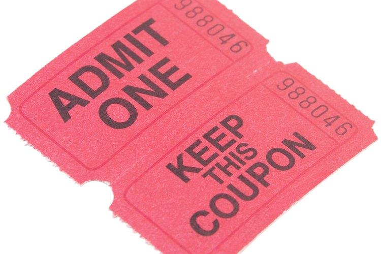 Cómo hacer tus propios boletos para un evento de recaudación de fondos - como hacer boletos para un evento