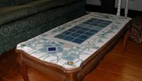 How to Make a Tile Coffee Table | HomeSteady