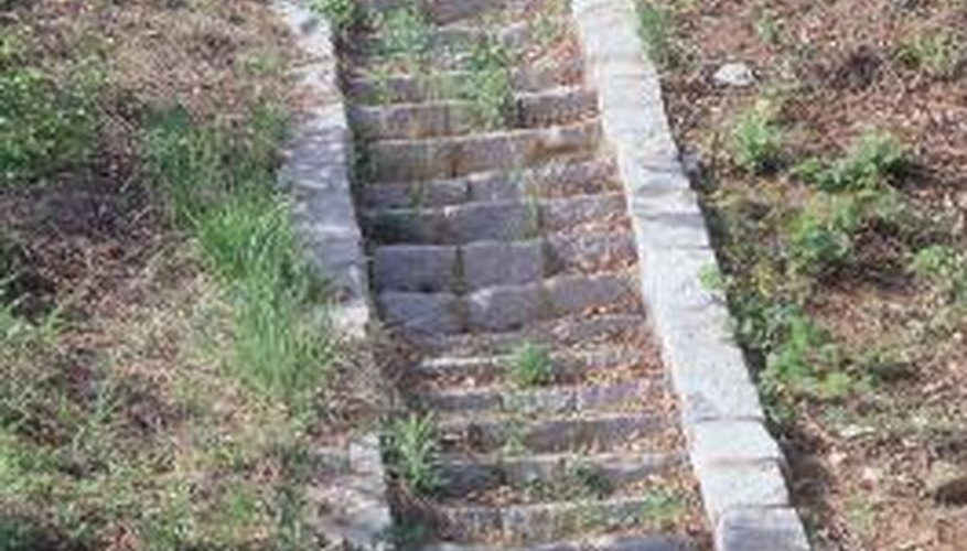 How To Form Concrete Steps Down A Steep Hill Garden Guides