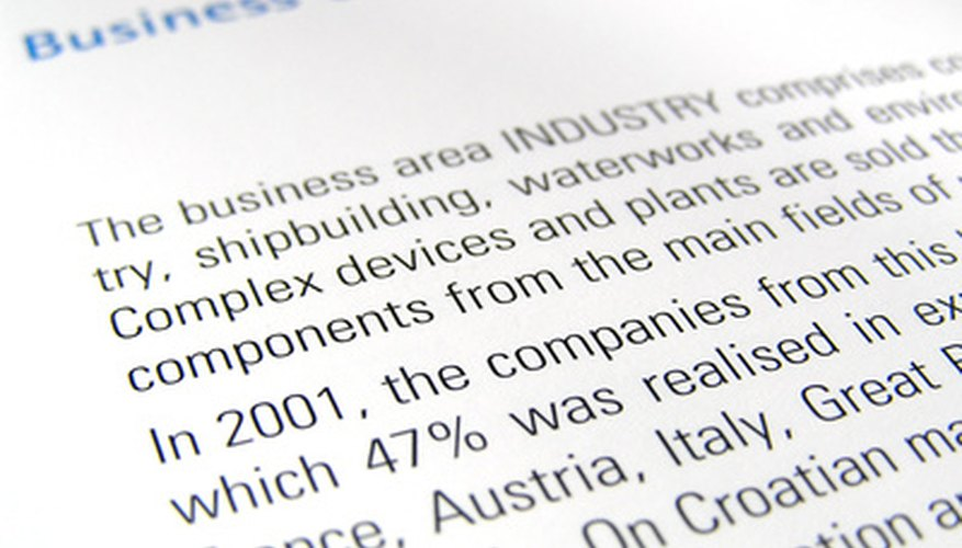 How to Format a Title Page for a Business Report Bizfluent - the report format
