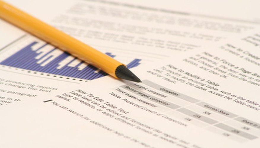 How to Write a Business Report Introduction Bizfluent