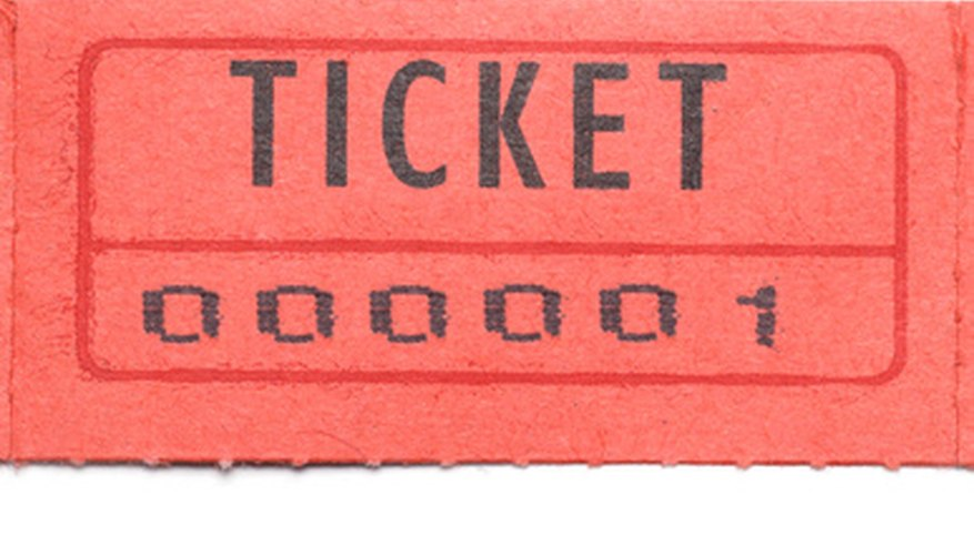 Planning a Benefit Raffle Tickets, Auction  Fundraising Etiquette - raffle ticket