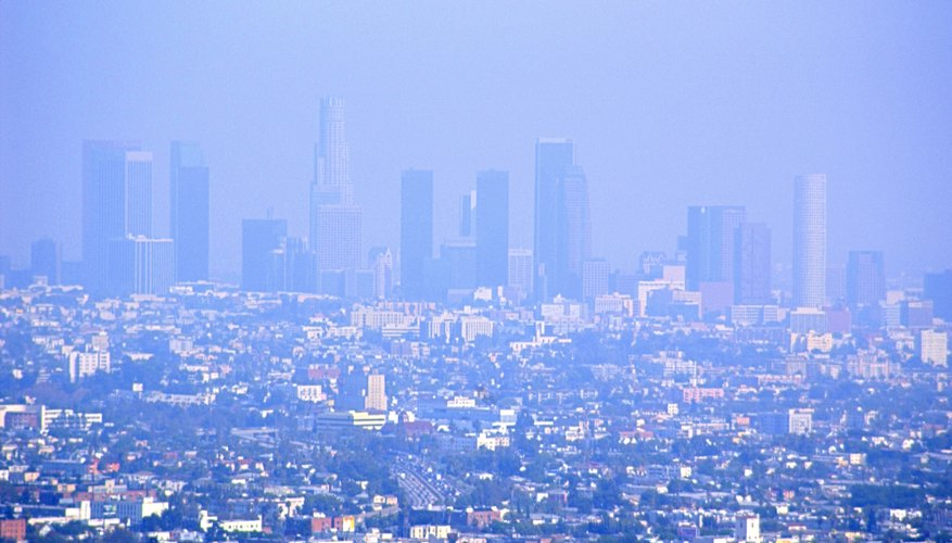 Types of Air Pollution Smog and Acid Rain Sciencing