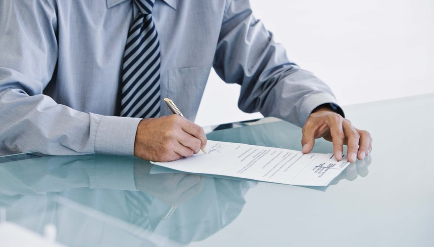 How to Obtain a Copy of a Business Operating Agreement Bizfluent - business agreements