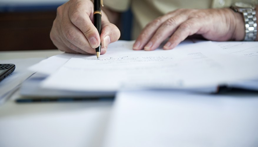 How to Write a Basic Contract Agreement Bizfluent - writing contract agreements