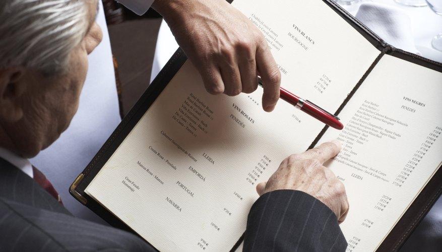 How to Make a Restaurant Menu in Microsoft Word Bizfluent - how to make a restaurant menu on microsoft word