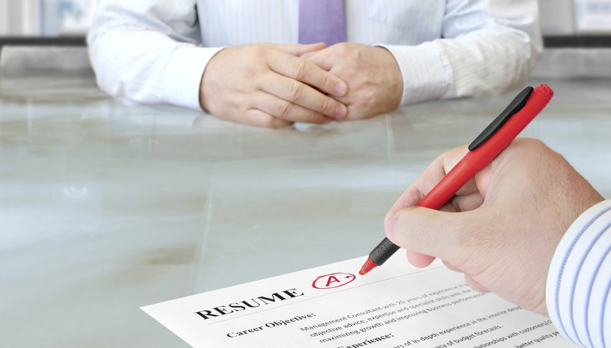 What Are Professional Accomplishments for a Resume? Bizfluent
