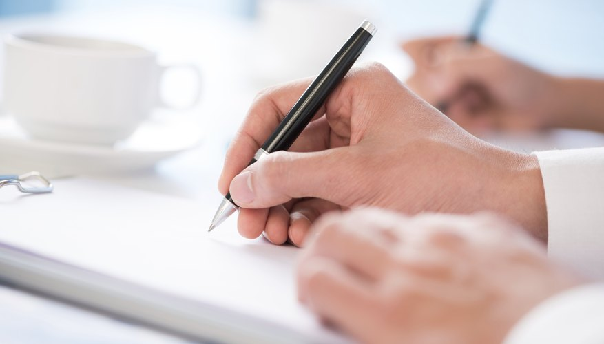 How to Create a Workshop Agenda Bizfluent - agenda writing