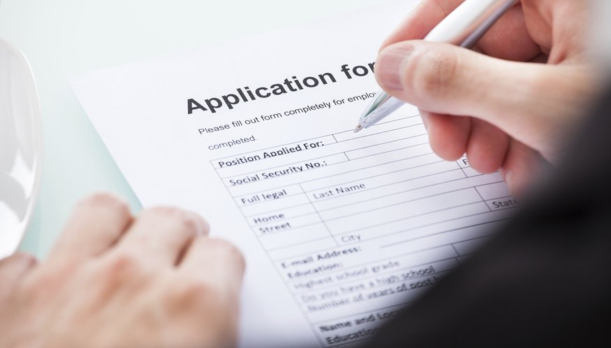 How Long to Keep Employment Applications on File? Bizfluent