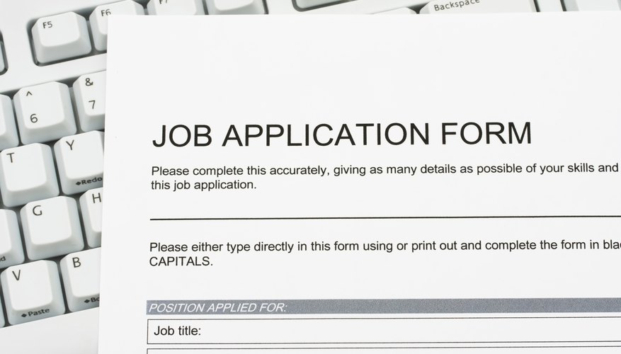 What Does Qualifications Mean on a Job Application? Bizfluent