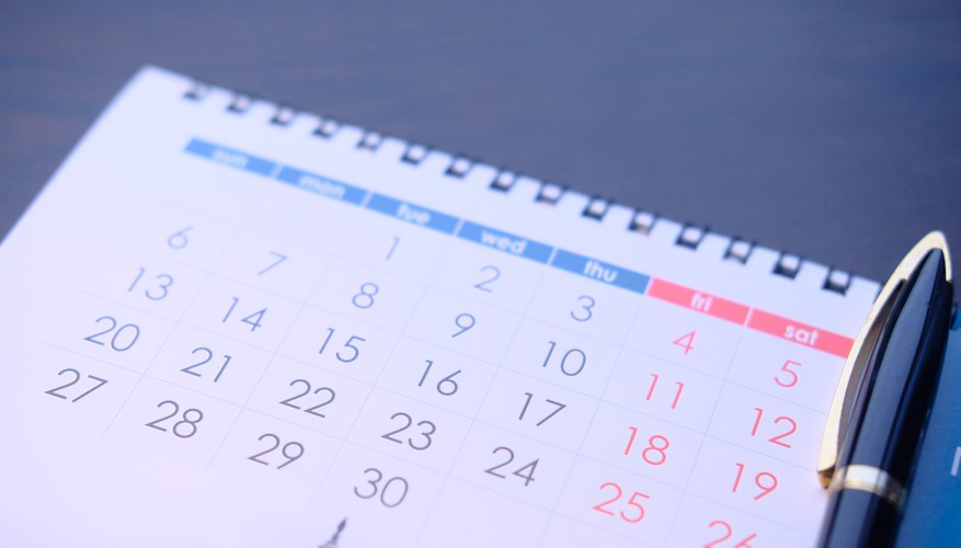 How to Calculate Dates for Bi-Weekly Payroll Bizfluent
