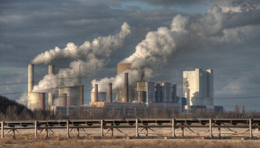Environmental Pollution Caused by Factories Sciencing