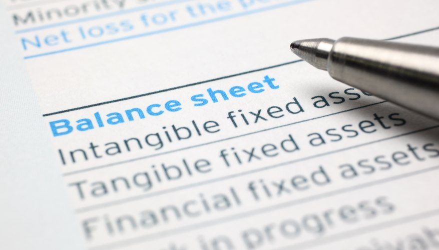 How to Calculate Return on Equity From Company Balance Sheets