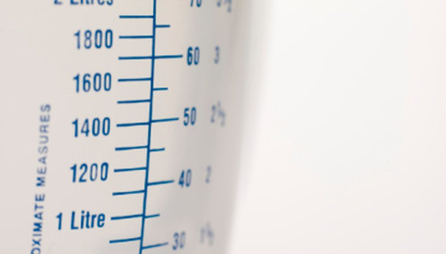 Types of Liquid Measuring Devices Sciencing