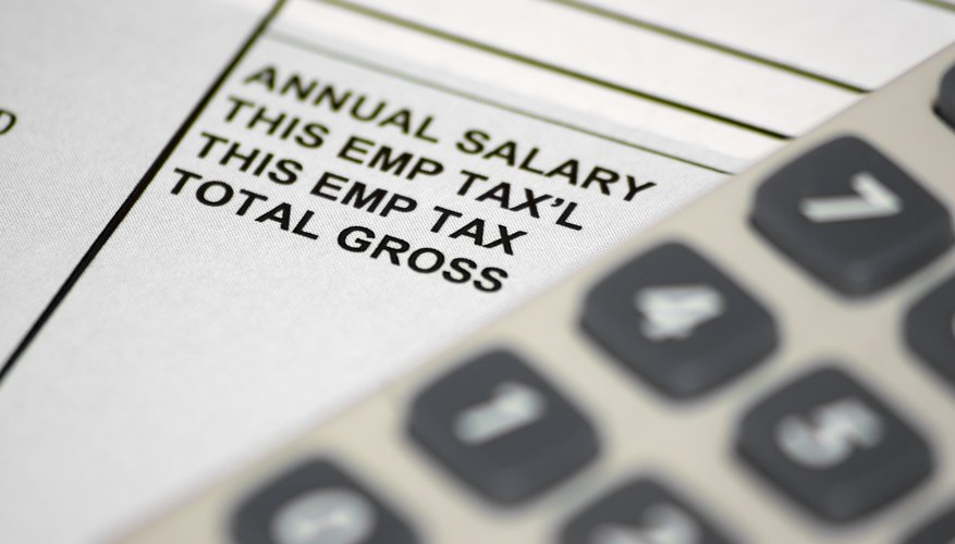 How to Calculate a Semi-Monthly Payroll Bizfluent