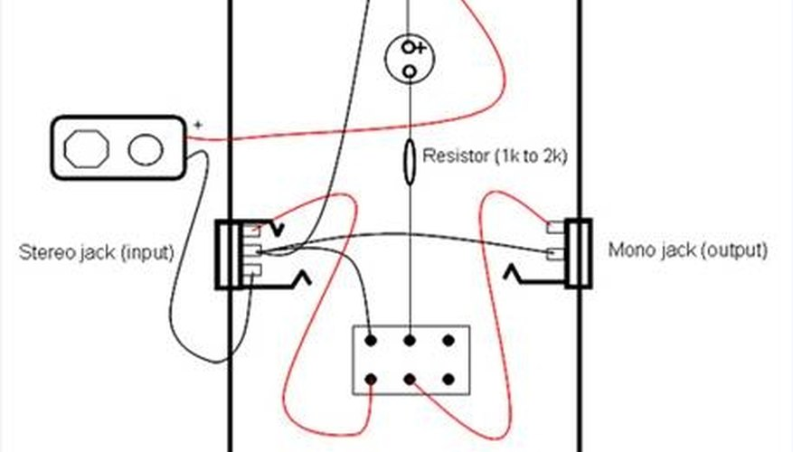 dpdt switch wiring diagram guitar pedal