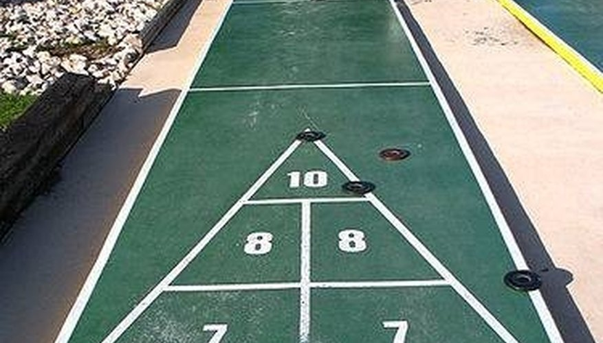 Deck Shuffleboard Rules Our Pastimes