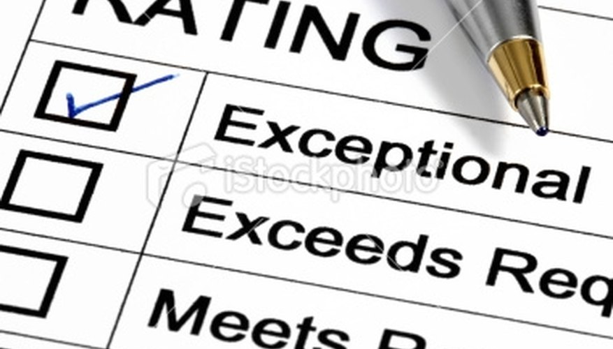Performance Appraisal Process Bizfluent