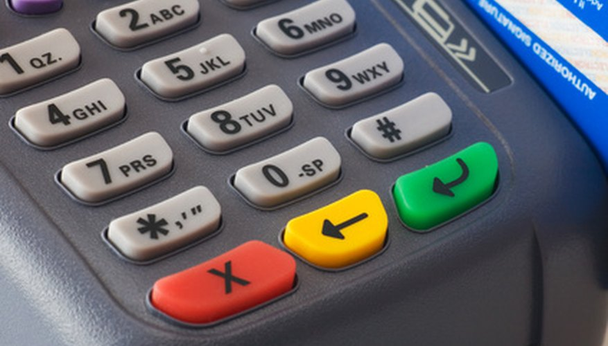 How to Reprint a Batch Report on a Credit Card Machine Bizfluent