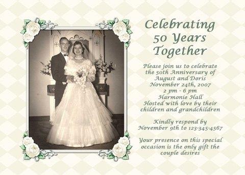Parents\u0027 50th Wedding Anniversary Party Ideas eHow - anniversary party ideas