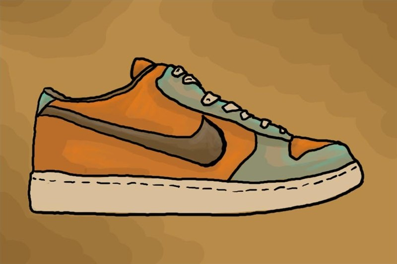 How To Draw Nike Shoes With Pictures Ehow