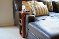 DIY Couch Arm Table | eHow