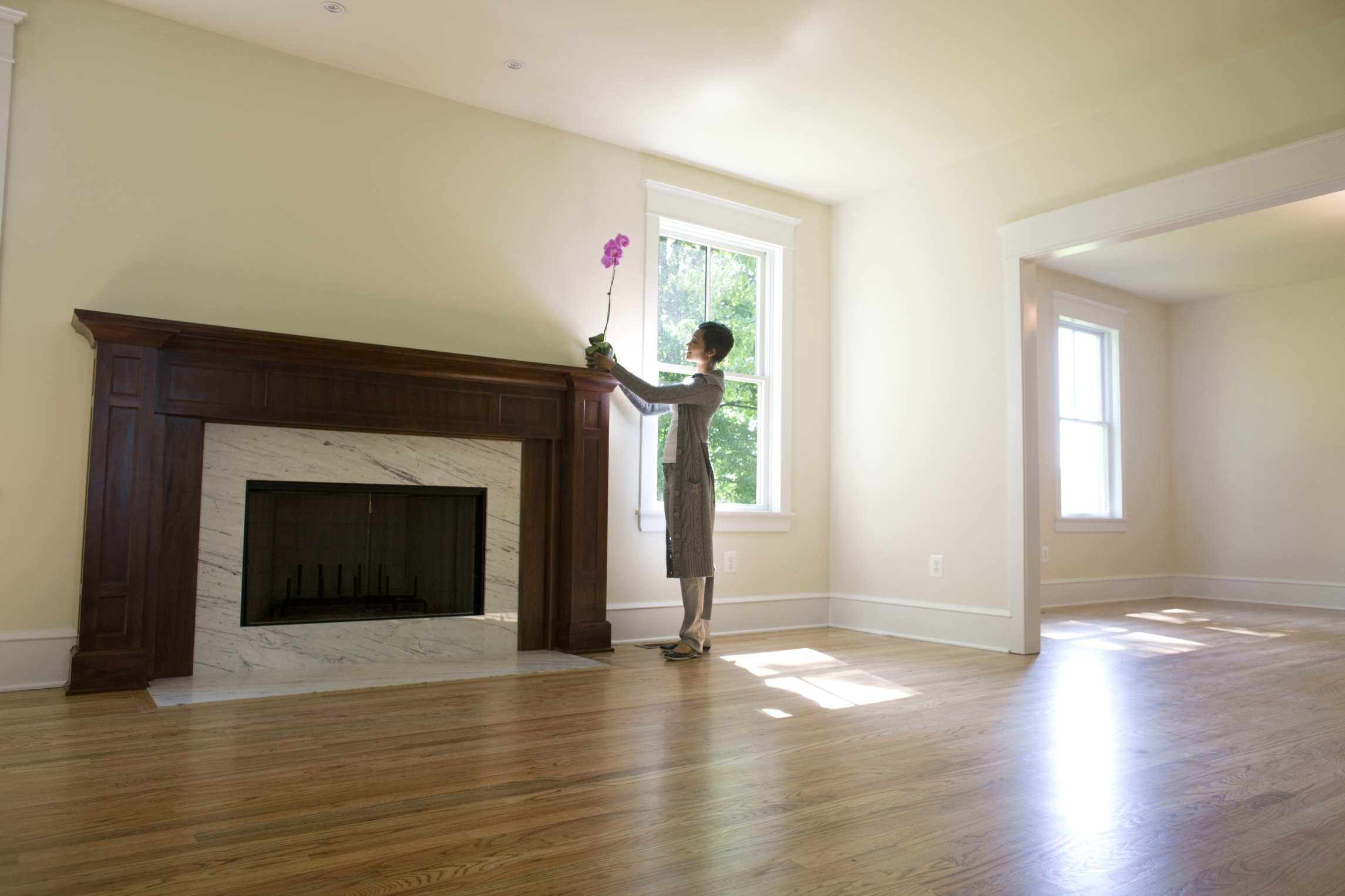 How To Decorate Fireplace Wall How To Decorate A Long Narrow Living Room With A Fireplace