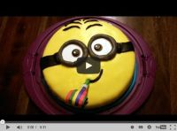 MINION KUCHEN backen