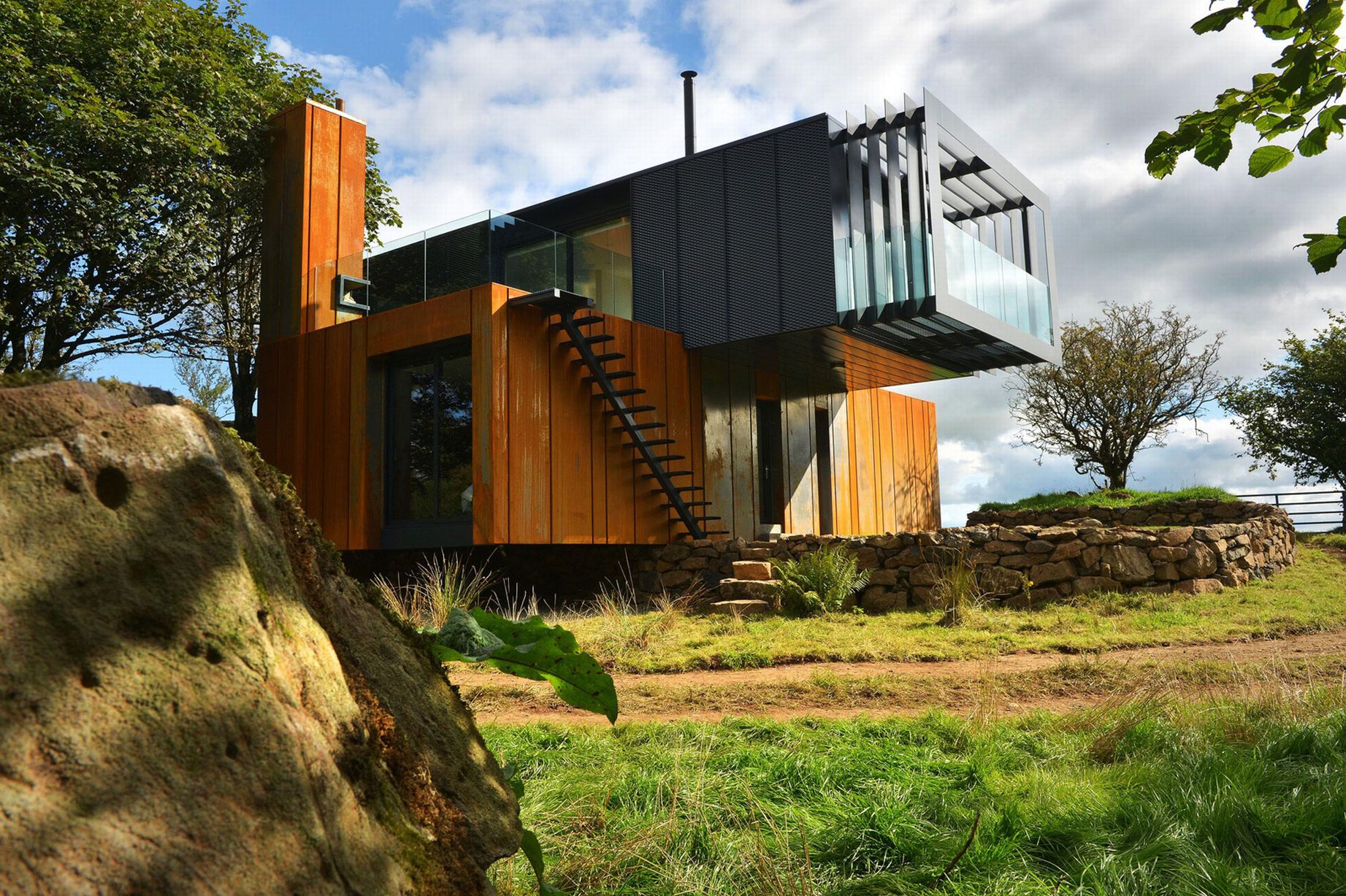Container Haus Irland The 20 Most Amazing Shipping Container Homes Brain Berries