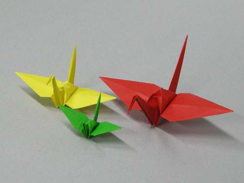 折り紙 鶴 に対する画像結果