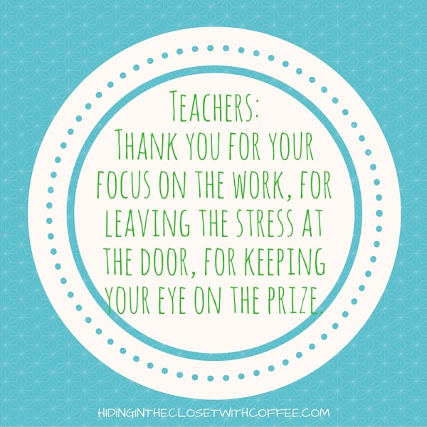 A Love Letter to my Children\u0027s Teachers TODAY