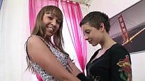 Velvet Flower & Grace Noel anal threesome GG291 (exclusive)