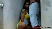 Anita Ferrari fazendo sexo na Rua