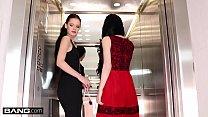 Glamkore - Lesbian Euro Babes Anie Darling, Lady Dee in sensual glam threesome