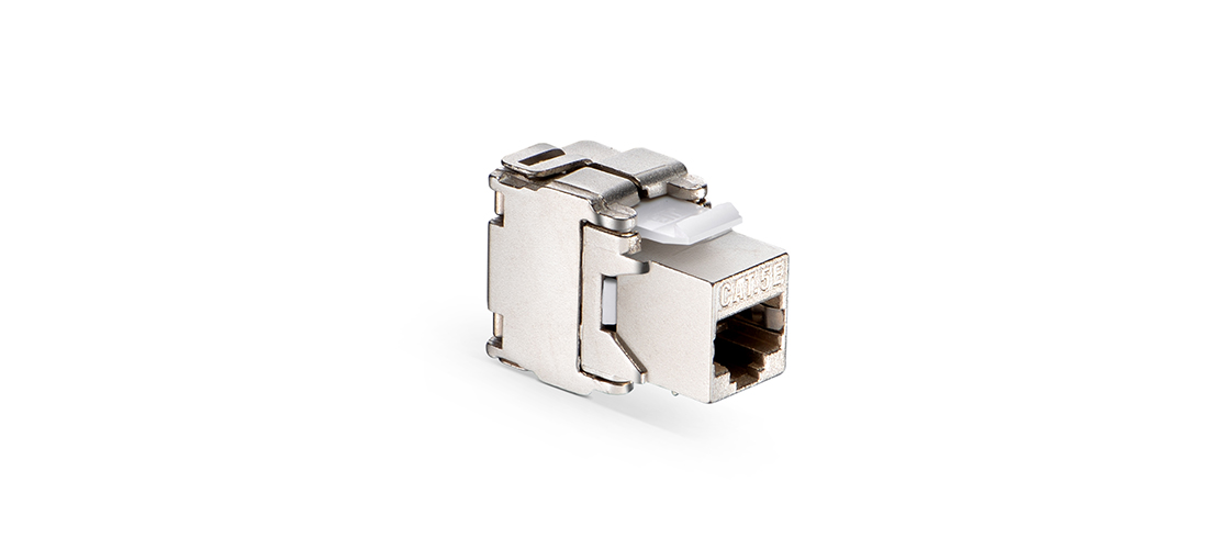 Cat5e RJ45 (8P8C) Shielded Toolless Keystone Jack FS - Fiberstore