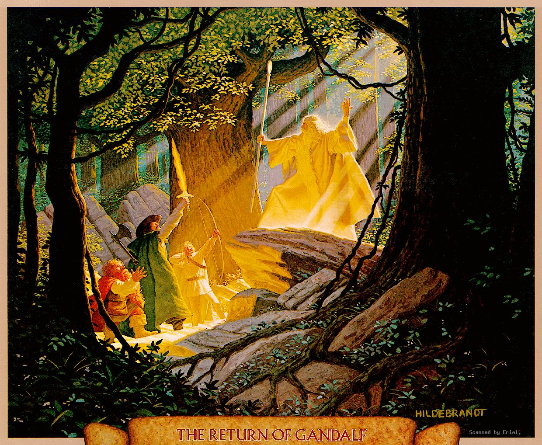 Desktop Wallpaper Tolkien Quote Gandalf Images