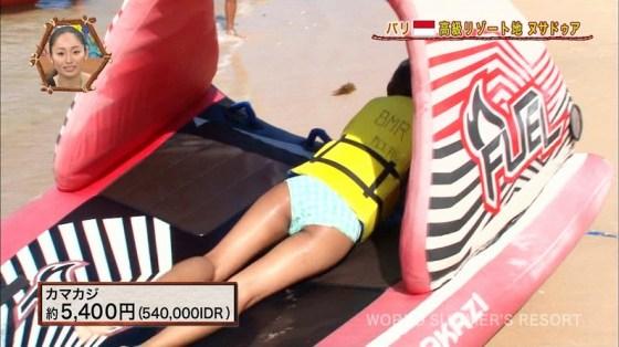 【お尻キャプ画像】今から夏が待ち遠しい、テレビに映る水着からはみでるお尻が見たいんやww 16